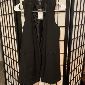 NWT Rue 21 Black Vest